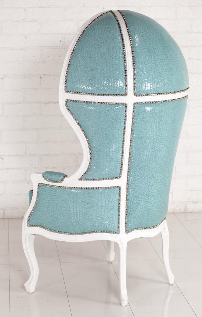 Www Roomservicestore Com Balloon Chair In Aqua Croc