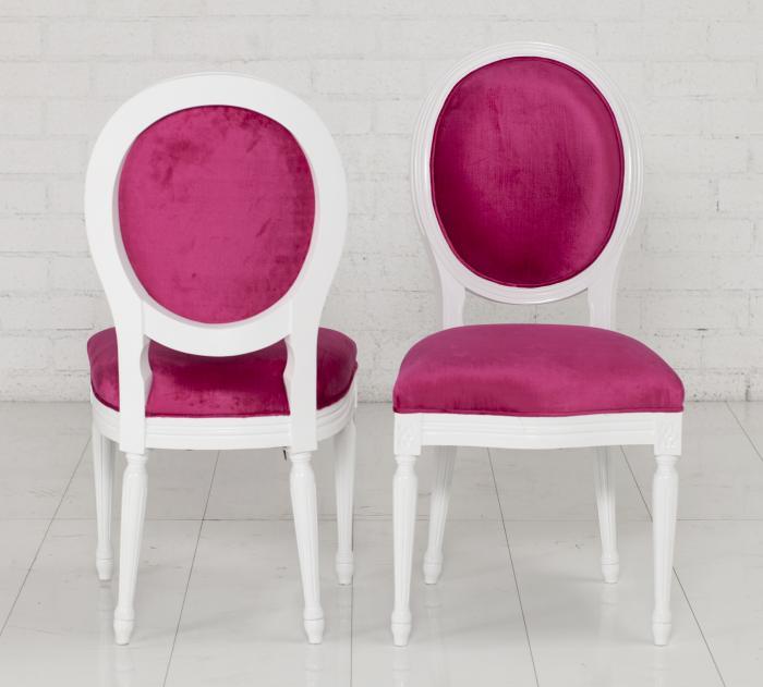 Velvet Louis Dining Chair