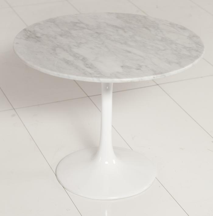 Saarinen Marble Tulip Table Saarinen Marble Tulip Side