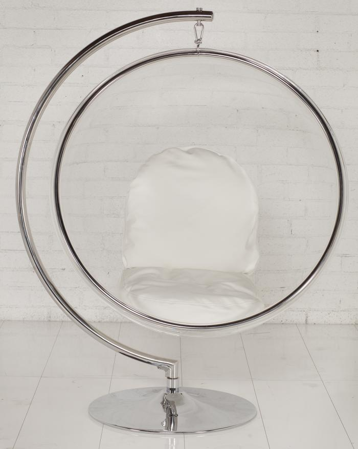 Attirant Swinging Bubble Chair With Stand