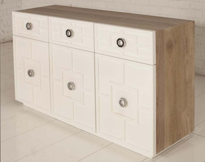 St. Tropez Credenza with Machiche Wood