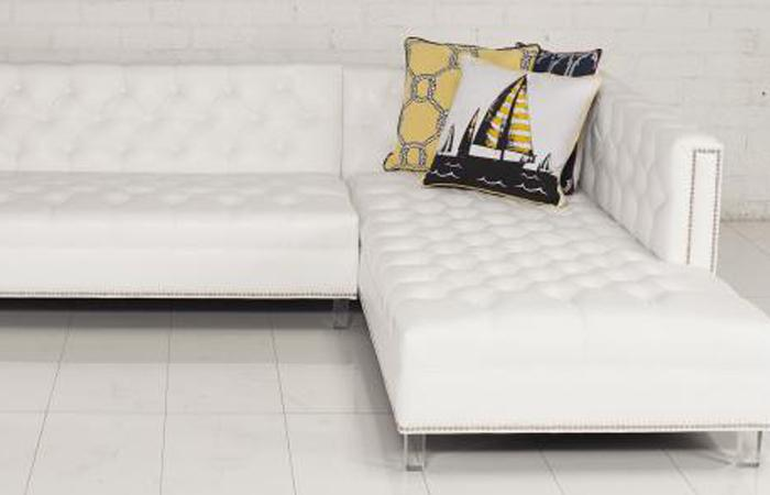 Hollywood Sectional Faux Leather : faux leather sectionals - Sectionals, Sofas & Couches
