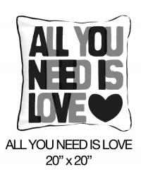All You Need Is Love Black/Grey