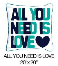 All You Need Is Love Blue