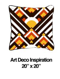 Art Deco Inspiration Orange