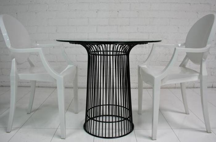 Wire Breakfast Table