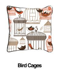 Bird Cages Orange