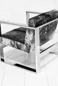 Fat U-Leg Cowhide Chair
