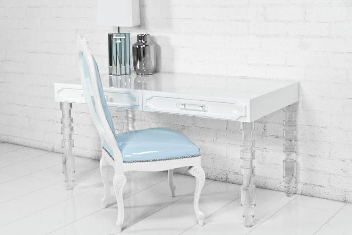 craft desk glass med by acrylic category george table lucite drawer product mirror king vanity desks plexi vanities
