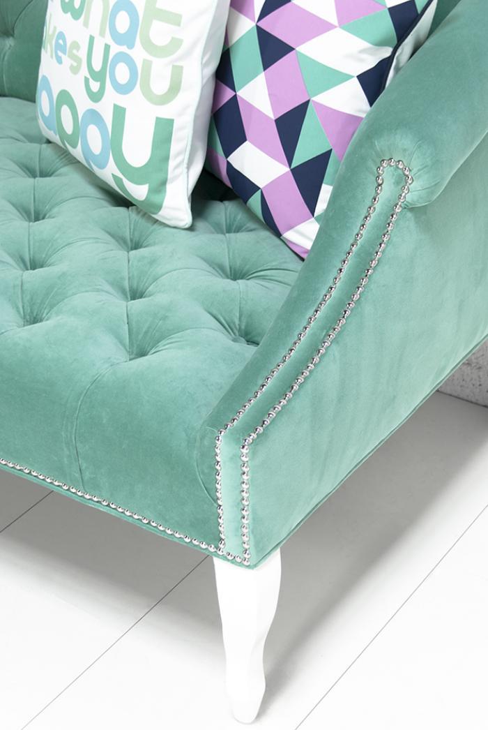 Www Roomservicestore Com Mademoiselle Sofa In Aqua Velvet