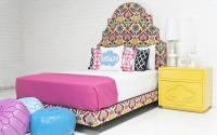Marrakesh Bed in Floral Damask