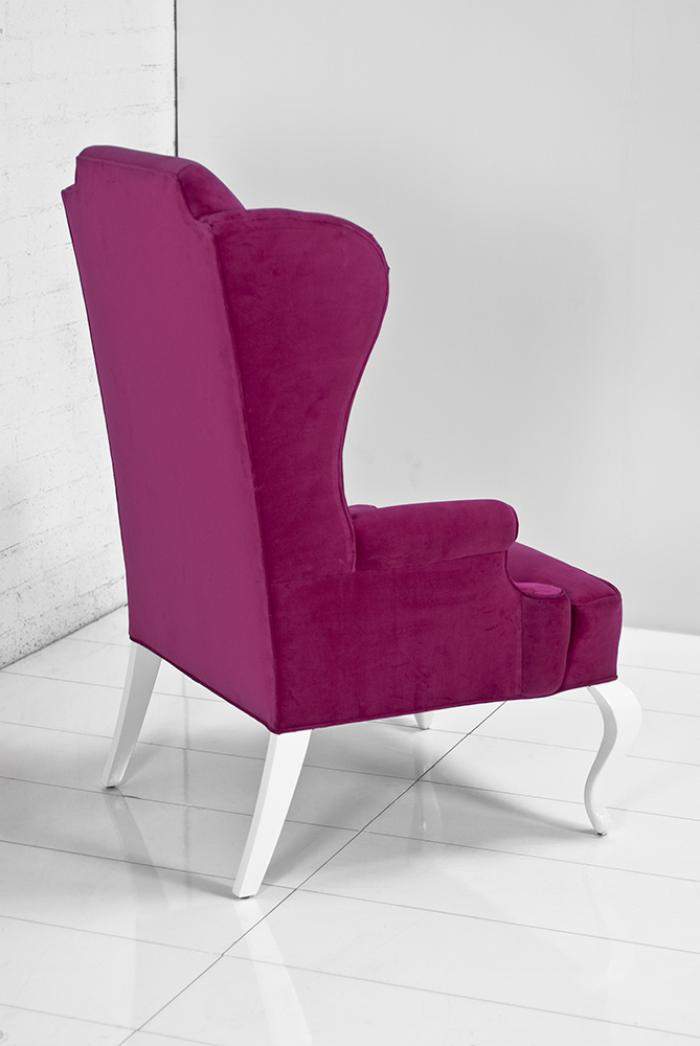 Www Roomservicestore Com Brixton Wing Chair In Pink Velvet