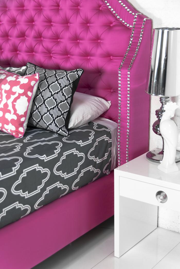 Www Roomservicestore Com Extra Tall Bel Air Bed In Pink