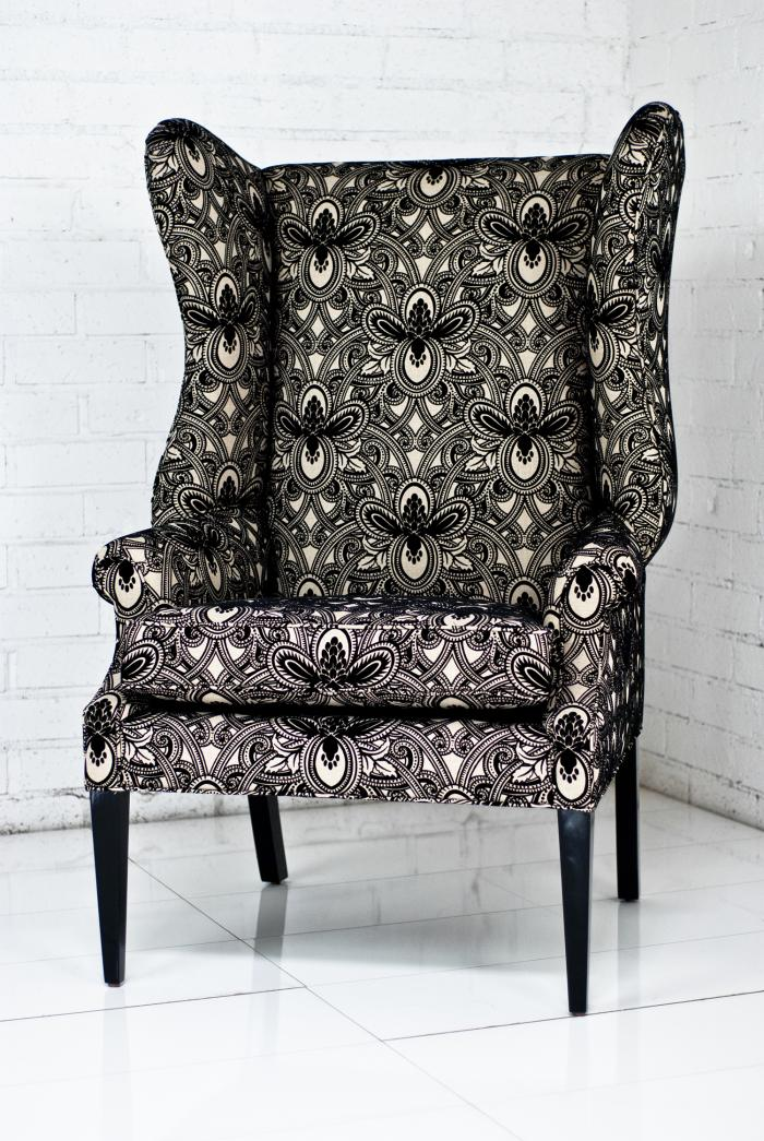 Swan Wing Chair