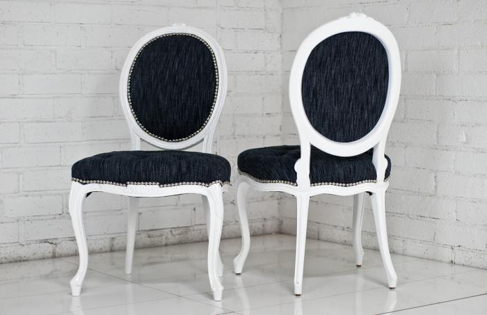 wwwroomservicestorecom Victoria Dining Chair in Dark Grey