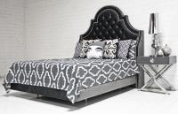 Bel-Air Bed in Charcoal