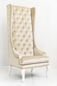Lolita Chair in Brussels Pearl