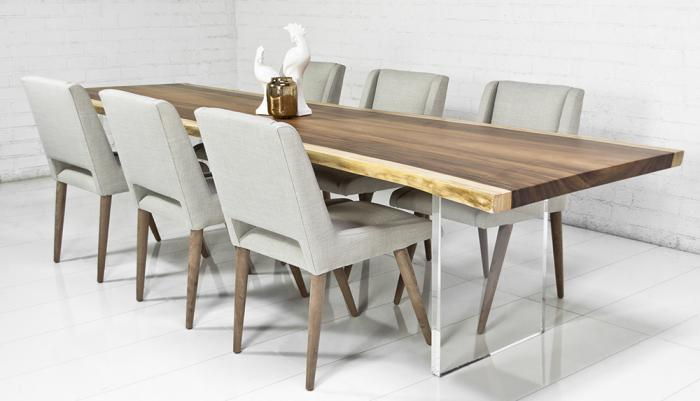 Table Ada Chairs Walnut Contemporary Dining Room Please Visit The New ModShop Website To Order Any Of Our