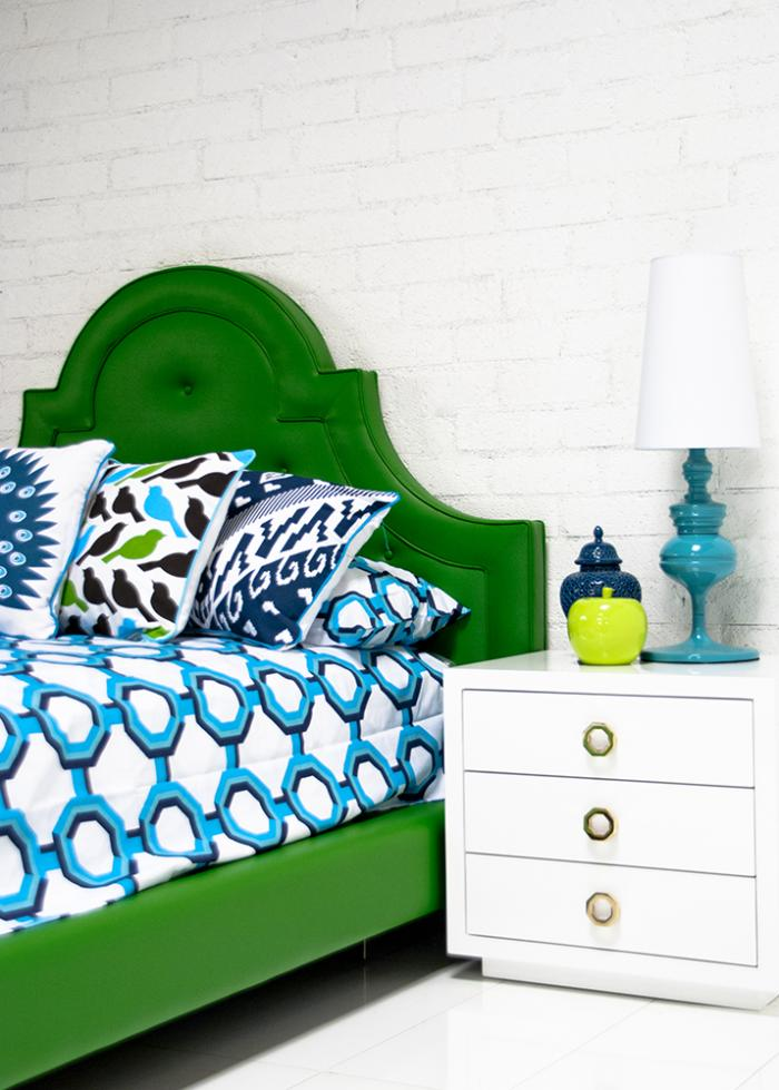 Hollywood Bed In Kelly Green Please Visit The New Mod Website Mod1 To Order Any Of Our Products Thank You