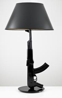 Room Service AK47 Table Lamp (More Colors Available)