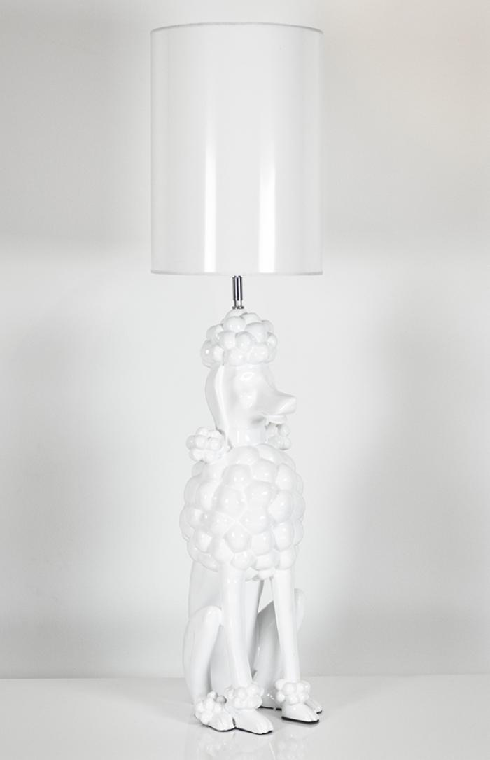 Poodle Lamp - Medium (More Colors Available)