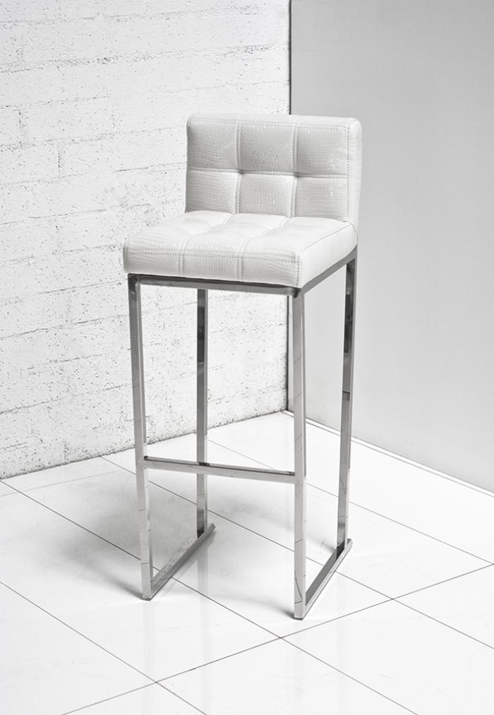 Www Roomservicestore Com White Croc Bar Stool