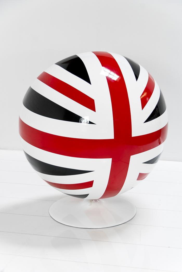 Www Roomservicestore Com Custom Painted Union Jack Ball