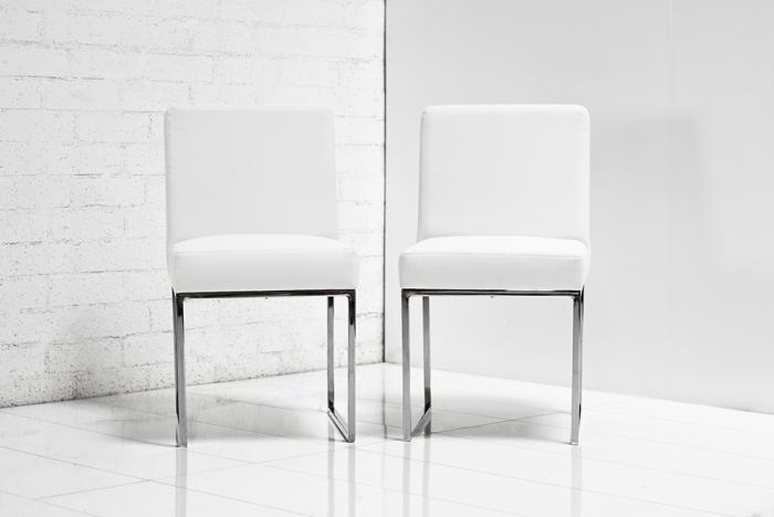 Www Roomservicestore Com 007 Dining Chair In White Leather