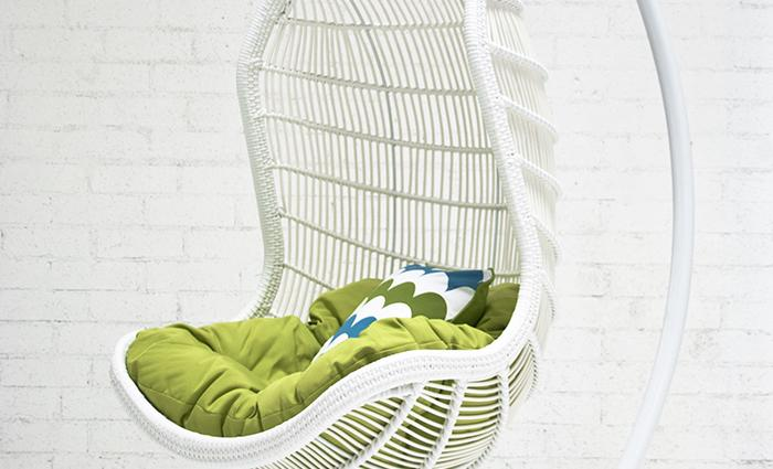 Outdoor Hanging Rattan Chair  sc 1 st  ModShop : outdoor hanging basket chair - Cheerinfomania.Com