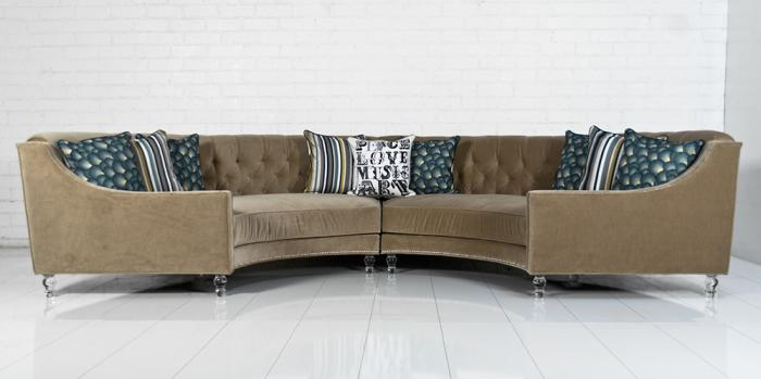 Custom Circle Sectional