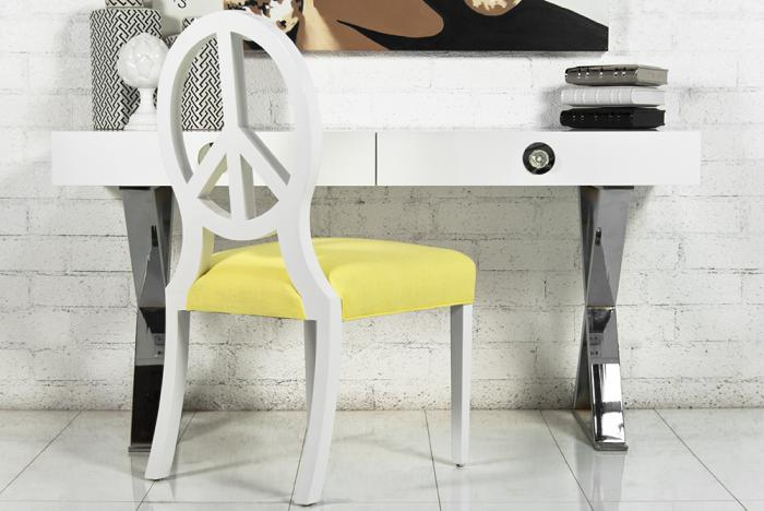 Boca Desk in White