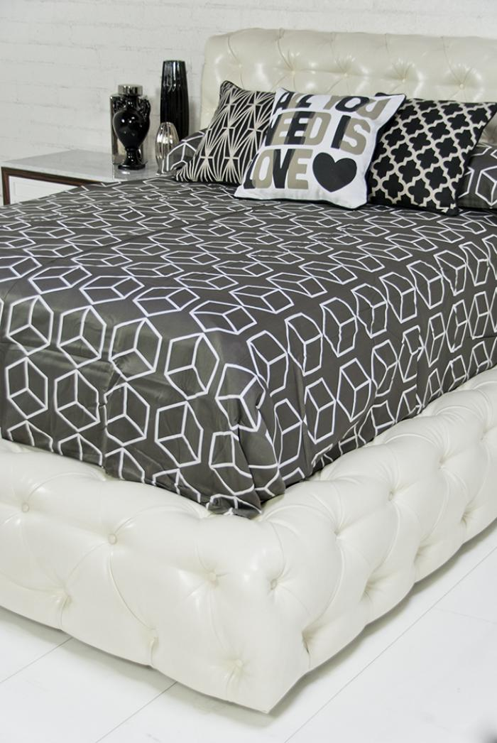 Www Roomservicestore Com Boca Bed In Faux Snake Leather