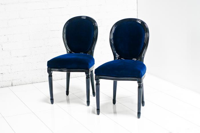 Navy Blue Dining Chairs Images