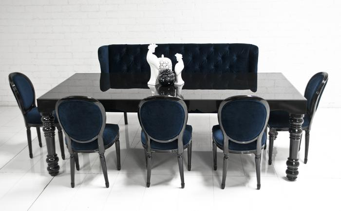 Www Roomservicestore Com Bel Air Dining Table In High Gloss Black