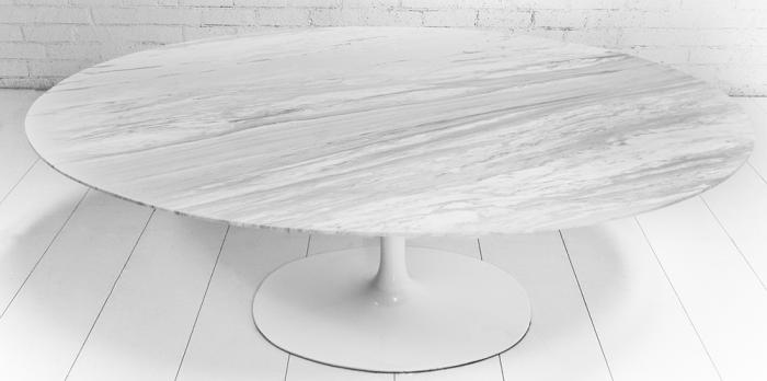 Wwwroomservicestorecom  Oval Imported Marble Tulip Dining Table - Oval marble dining table