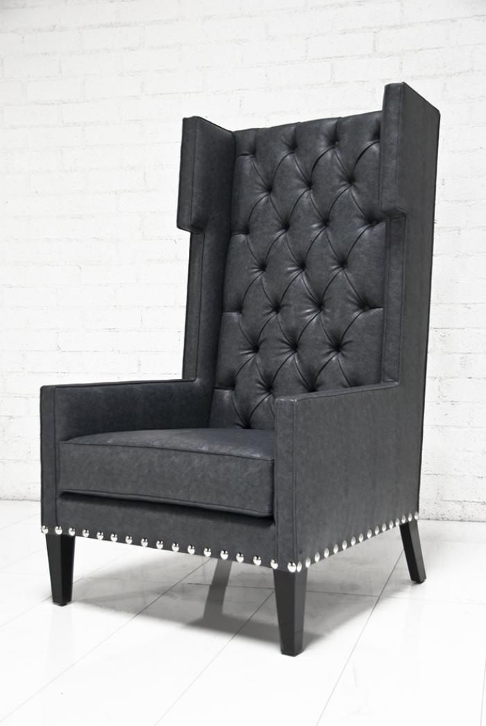 Www Roomservicestore Com Tangier Wing Chair In Charcoal