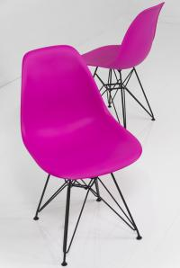 Dark Pink Bucket Chair