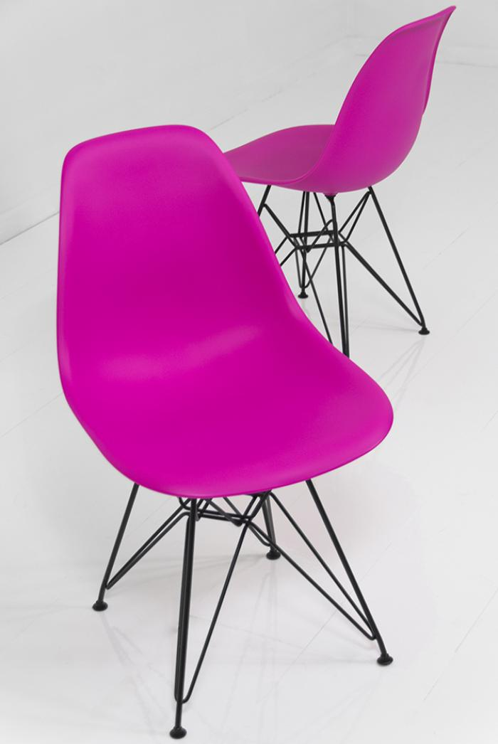 www.roomservicestore.com - Dark Pink Bucket Chair