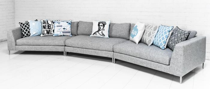 Www Roomservicestore Com Wexler 3 Piece Angled Sectional