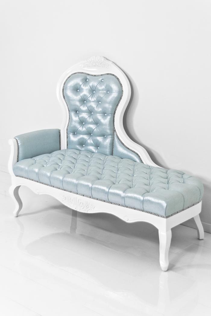 Riviera chaise lounge in for Chaise pastel