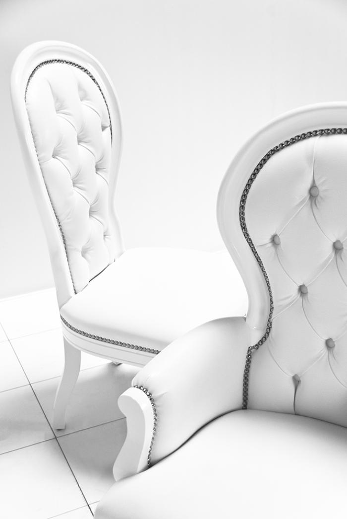 Riviera Dining Chair in White
