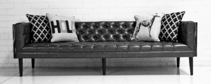 Charcoal Leather Sectional Sofa 13 Terrific
