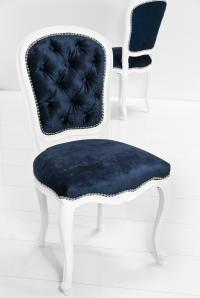 Philippe Dining Chair in Brussels Midnight