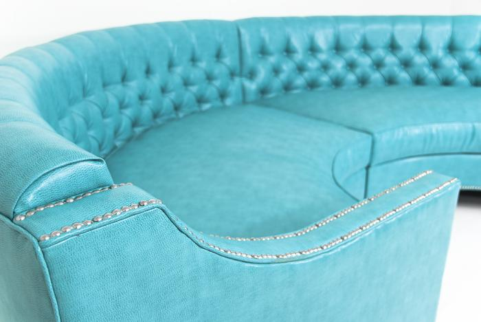 Www Roomservicestore Com Circle Sectional In Turquoise