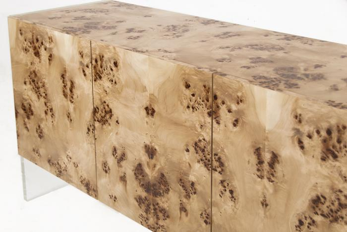 burl wood credenza 1