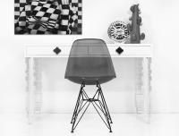 Mini Concord Desk Lucite Legs