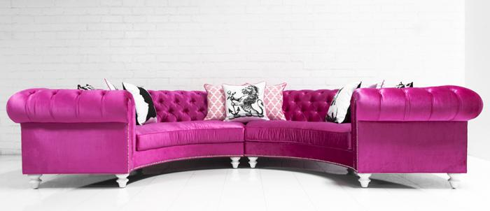 www.roomservicestore.com - Chesterfield Circle Sectional in Majestic ...