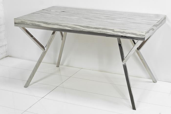 dining table chrome dining table base. Black Bedroom Furniture Sets. Home Design Ideas