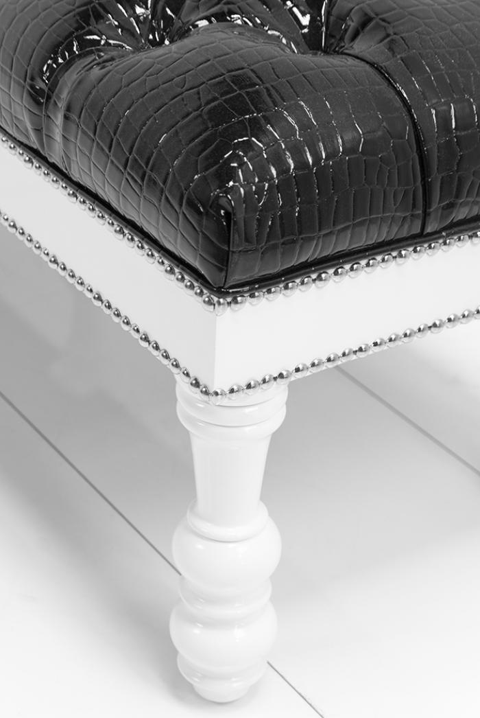Www Roomservicestore Com Bel Air Bench In Faux Black