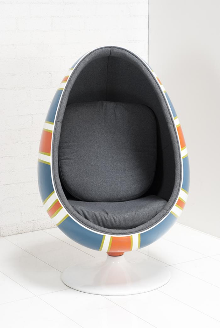 Www Roomservicestore Com Hand Painted Union Jack Pod Chair